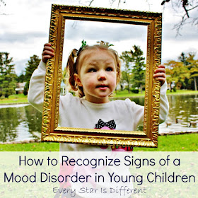 How to recognize signs of a mood disorder in young children