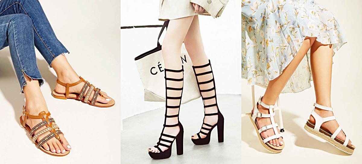 Milanoo Gladiator Sandals
