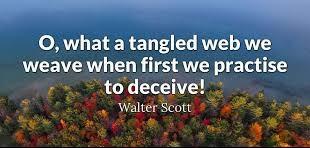 Practice To Deceive Quote