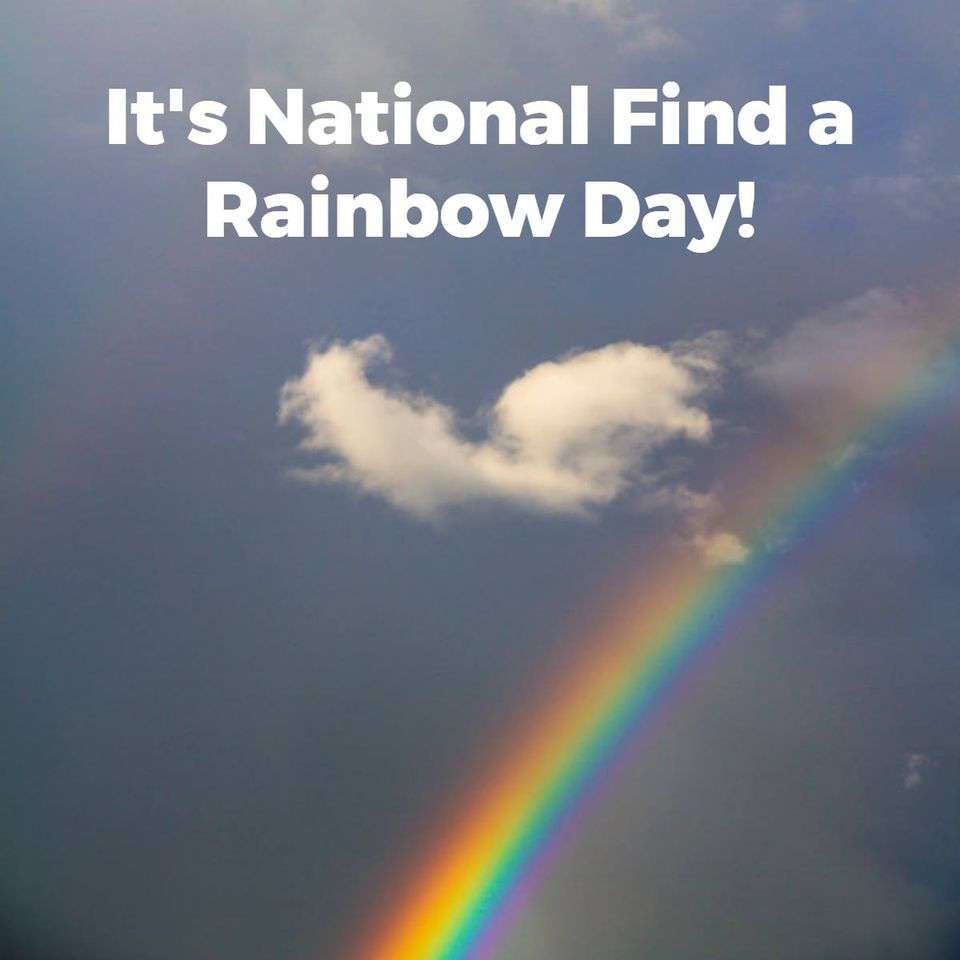 National Find a Rainbow Day Wishes