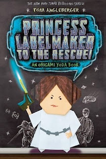bookcover of PRINCESS LABELMAKER TO THE RESCUE (Origami Yoda #5)  by Tom Angleberger