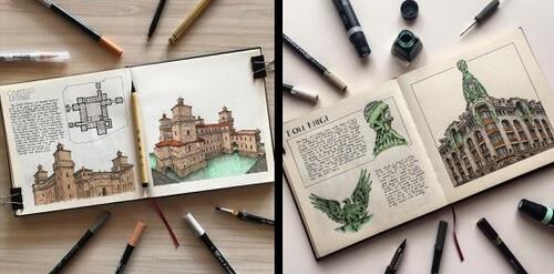 00-Architectural-Illustrations-Oğuzhan-Çengel-www-designstack-co