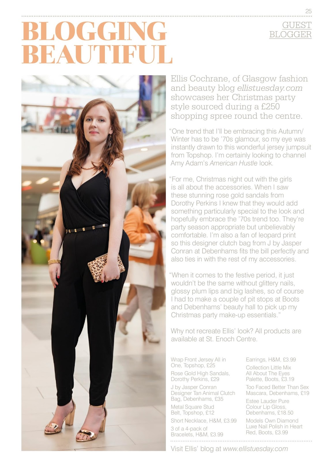 St. Enoch Magazine Feature