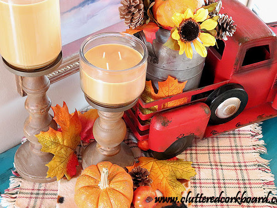 Simple Fall Decor Around the House 2018