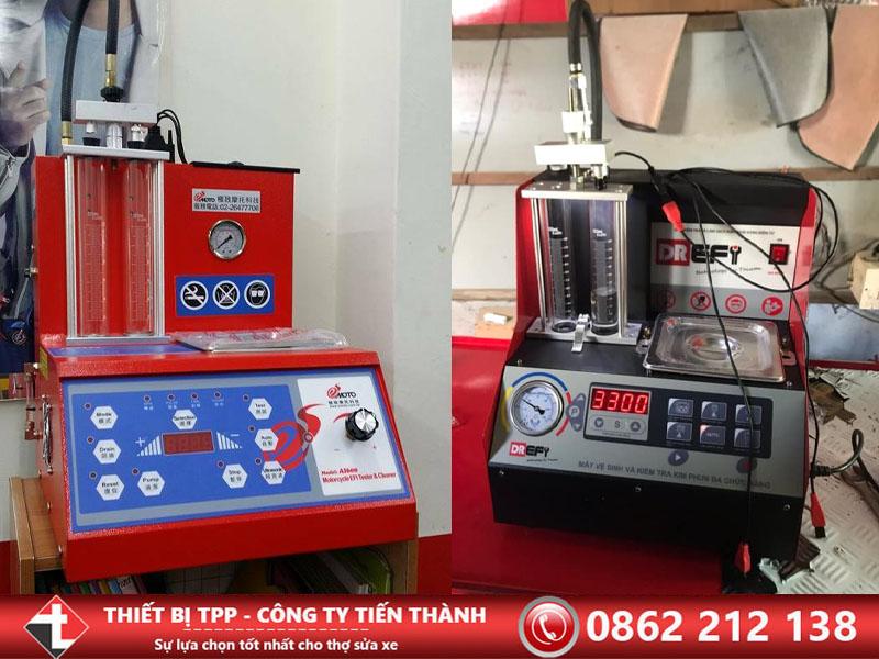 máy súc rửa kim phun, máy súc rửa béc phun, máy kiểm tra kim phun, máy kiểm tra béc phun, máy tẩy rửa kim phun