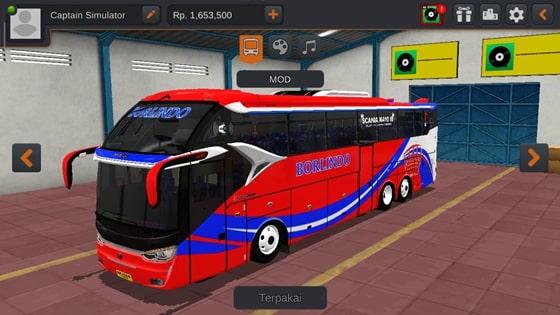 Download Livery SR2 XHD Scania K410 MOD BUSSID Terbaru By Unity