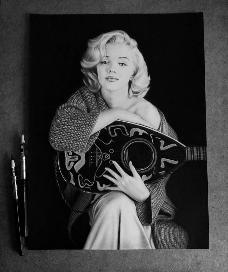 13-Marilyn-Monroe-Таня-Мусатенко-www-designstack-co