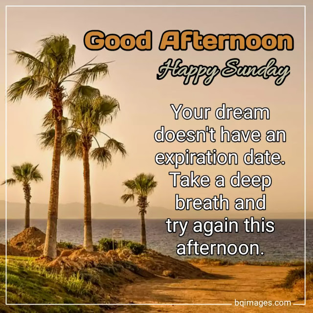 good afternoon sunday quotes