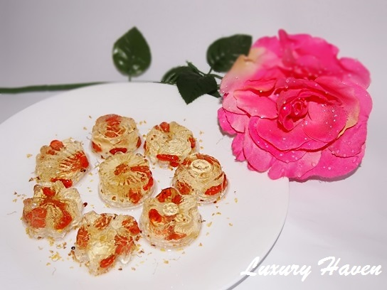 chinese new year osmanthus konnyaku jelly recipes