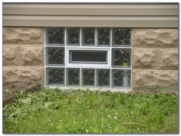 Gl Block Basement Windows With Air Vents Home Car Window