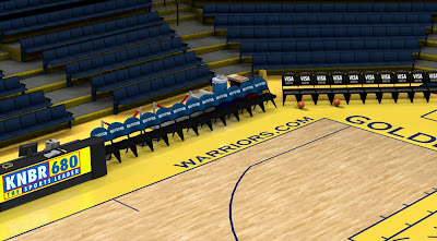 2K Real Court, Bench, Dornas, Backboard Mod