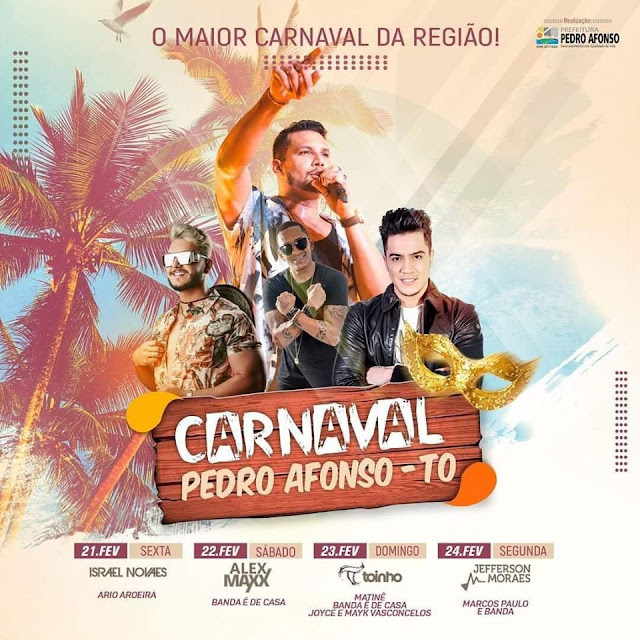 carnaval pedro afonso tocantins