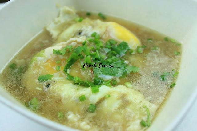 Resepi Sup Telur Paling Senang