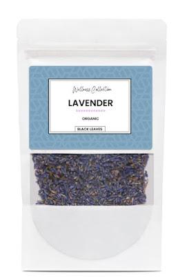 Black Leaves lavender tea