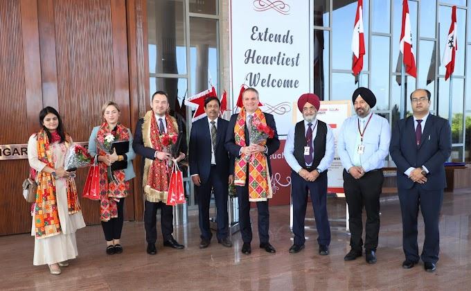 Polish Ambassador to India visits Chandigarh University