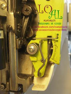 tirahilos maquina de coser Alfa 530
