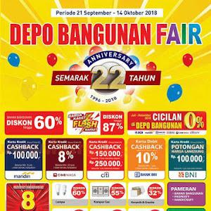 Katalog Promo DEPO BANGUNAN Terbaru Periode Oktober 2018