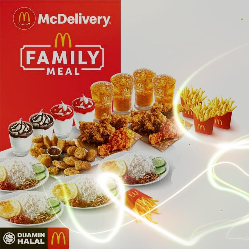 Order McDonald Dengan McDelivery Memang Pantas