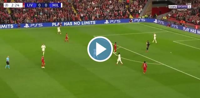 Liverpool vs Milan Live Score