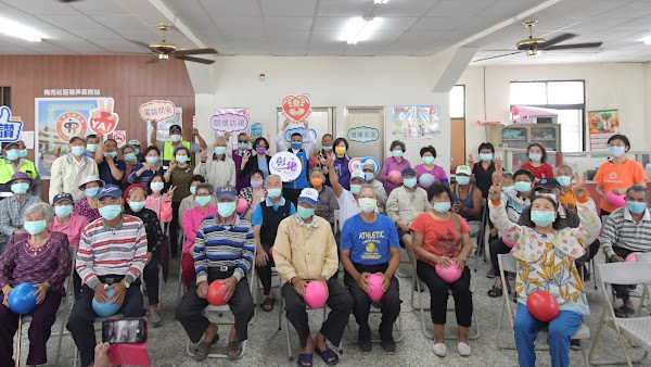 王惠美訪視二林鎮梅芳、趙甲社區照顧關懷據點