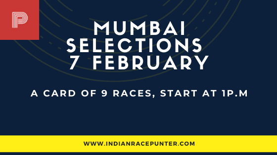 Mumbai Race Selections 7 February