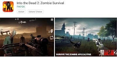 game perang lawan zombie