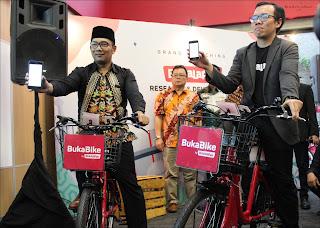 Launching BukaBike