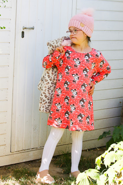 Kleid-Schnittmuster-rosarosa