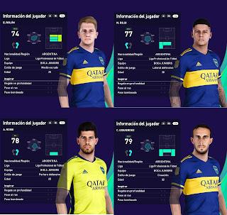 PES 2021 Mini FacePack Boca Juniors by Grdumbanda