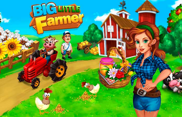 big little farmer sin internet