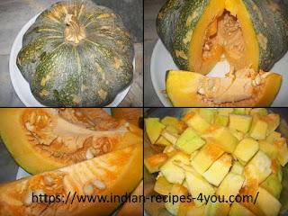pumpkin halwa