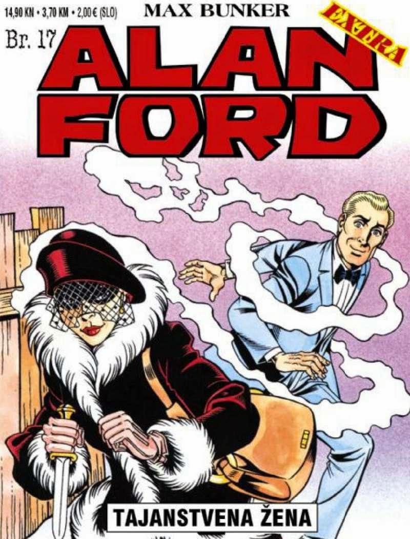 Tajanstvena-Zena - Alan Ford