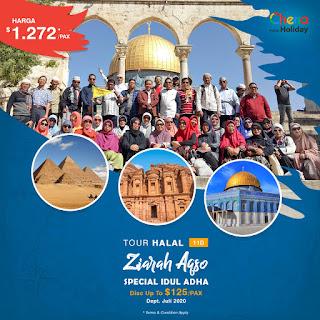 Paket Tour Aqsa Spesial Idul Adha 2020
