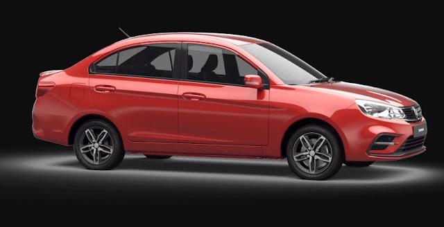 Proton Saga 2019 Side View