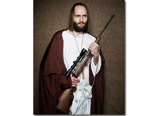 As fotos mais estranhas e inexplicáveis de todos os tempos - parte 3 - Jesus armado