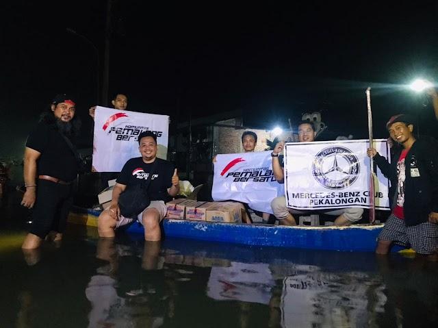 Pemalang Bersatu Kembali Salurkan Bantuan ke Korban Banjir Pekalongan