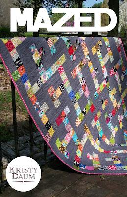 MAZED Quilt Pattern // Kristy Daum // St. Louis Folk Victorian