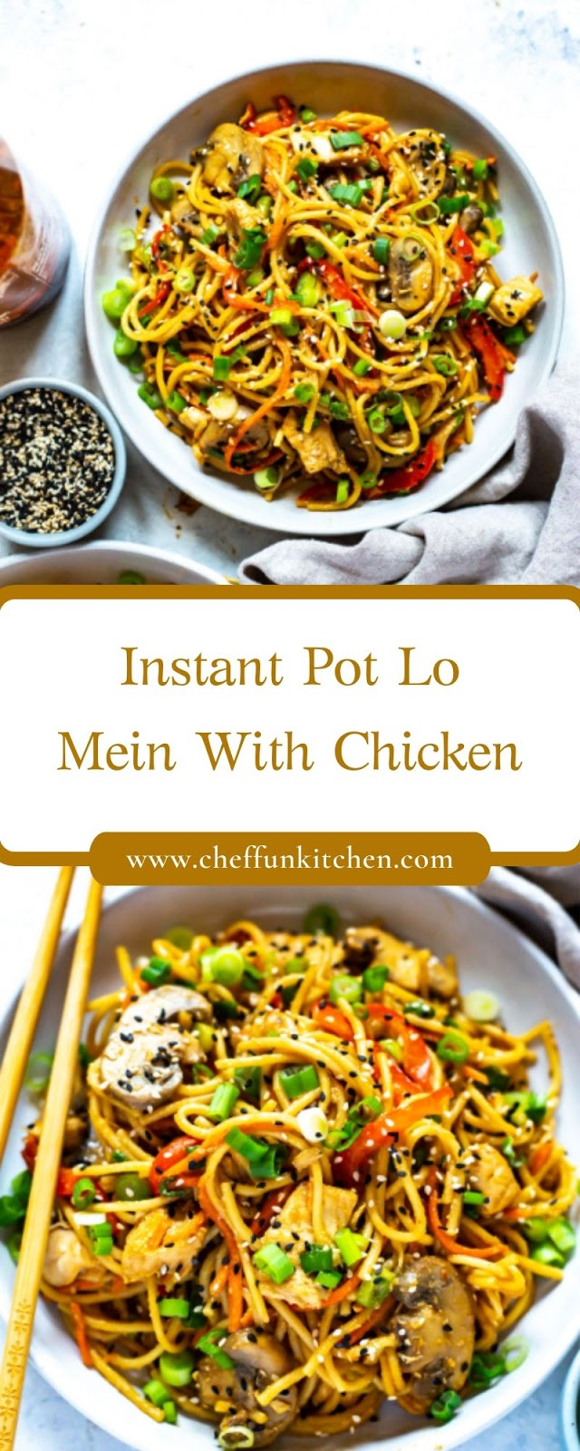 Instant Pot Lo Mein With Chicken