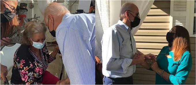 Biden visita familia dominicana damnificada en Queens y dice la resiliencia de neoyorquinos representa  el espíritu de la nación