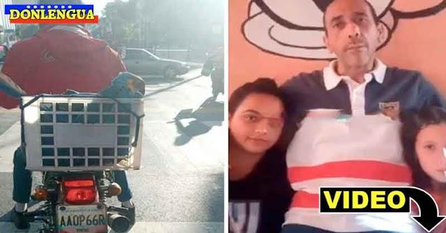 Liberaron al motorizado que le salvó la vida a una guacamaya