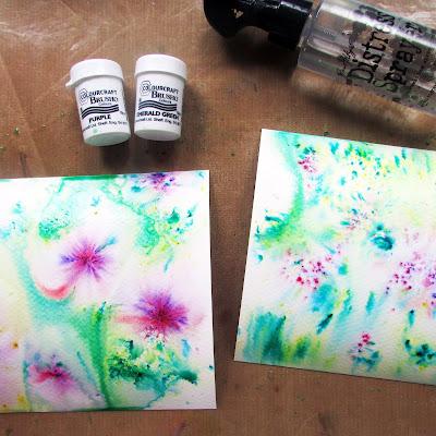 brusho paint