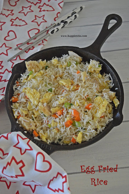 Egg Fried Rice Recipe | Restaurant style Egg Fried Rice