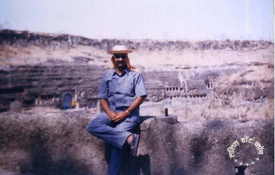 अजंता की गुफ़ांओं में ललित शर्मा