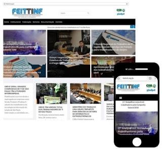FEITTINF lança novo site