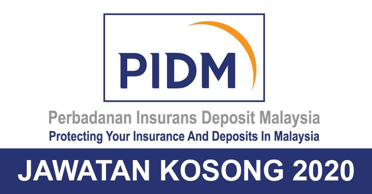 Jawatan Kosong di Perbadanan Insurans Deposit Malaysia (PIDM)