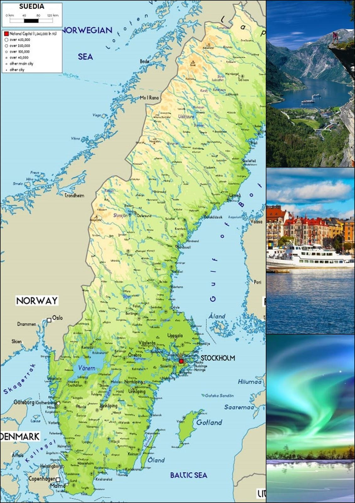Geographia Online Suedia Regatul Suediei Conținutul