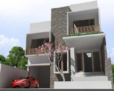 desain rumah minimalis 2 lantai tampak depan ~ desain rumah