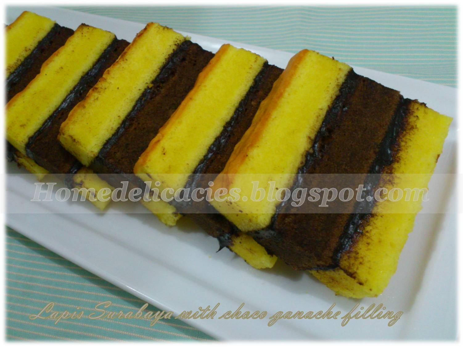 Resep Cake Jerman Ncc: Homedelicacies: Lapis Surabaya With Choco Ganache Filling