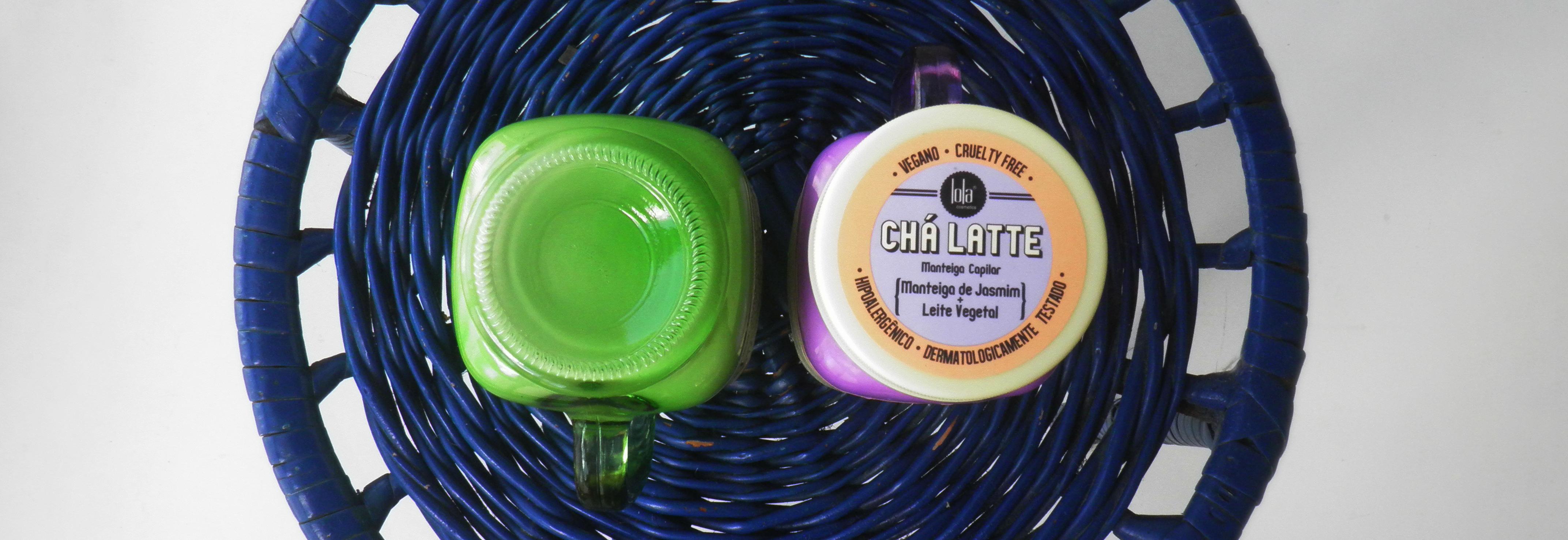 Composição e Ingredientes Chá Latte Manteiga de Jasmim e Leite vegetal Lola