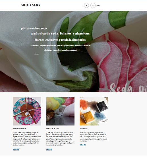 la nueva web de arteyseda.com